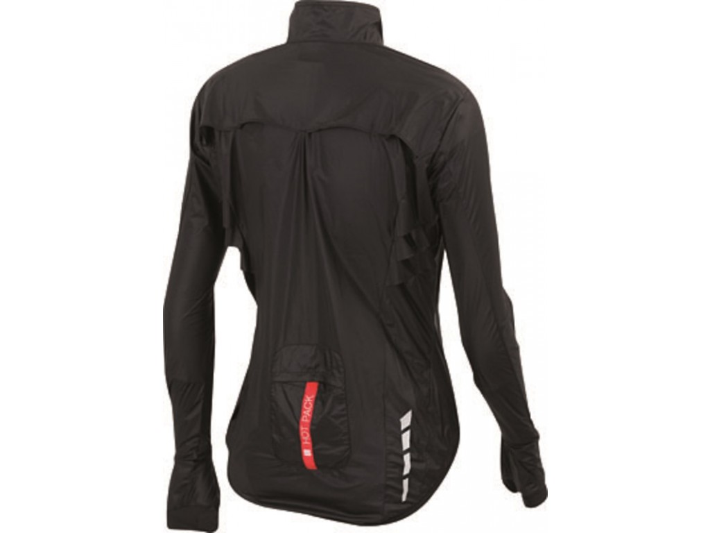 28e08f5c Sportful Hot Pack 5 W Jacket / Fietsjack Dames Black - Wind- en ...