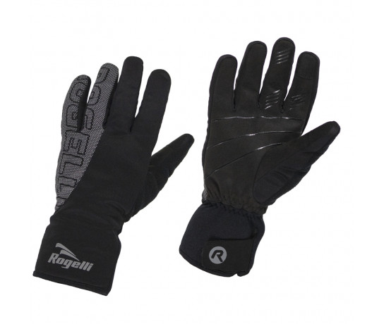Rogelli Flash Fietshandschoenen winter Heren Zwart