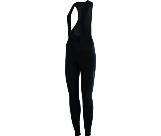 CASTELLI Meno Wind W Bibtight / Fietsbroek lang dames Black