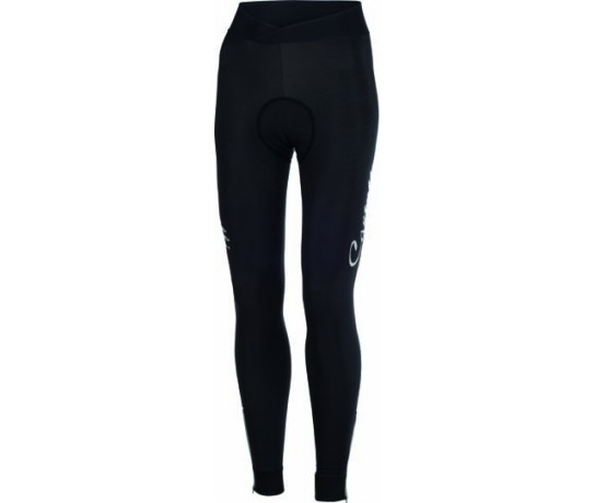 CASTELLI Nanoflex Donna Tight / Fietsbroek lang dames zonder bretels Black