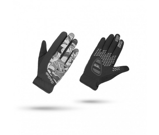 Gripgrab Rebel Winter Glove Children / Fietshandschoen Kinder Zwart