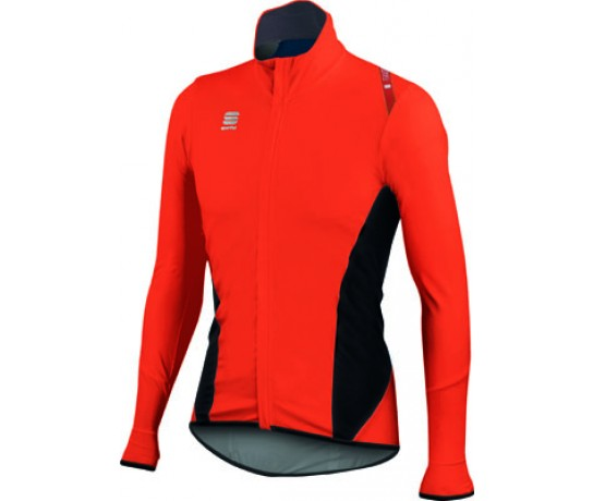 Sportful Fiandre Light NoRain Top / Wind/regen Fietsjack Red Fire/Black