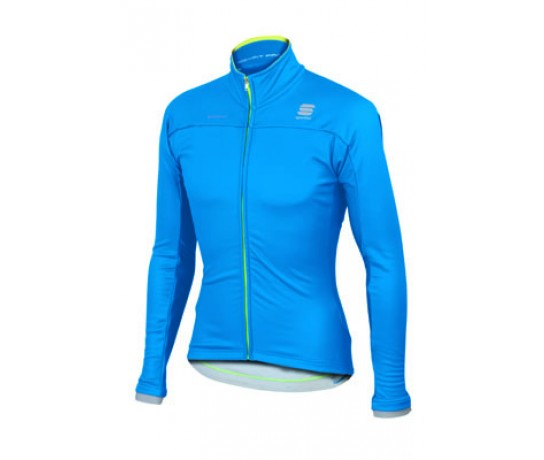 Sportful Bodyfit Pro WS Jacket/ Fietsjack Wind Stopper Electric Blue/Yellow Fluo *