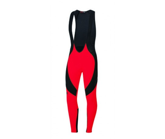 Sportful Flare BibTight / Fietsbroek Red Fire/Black