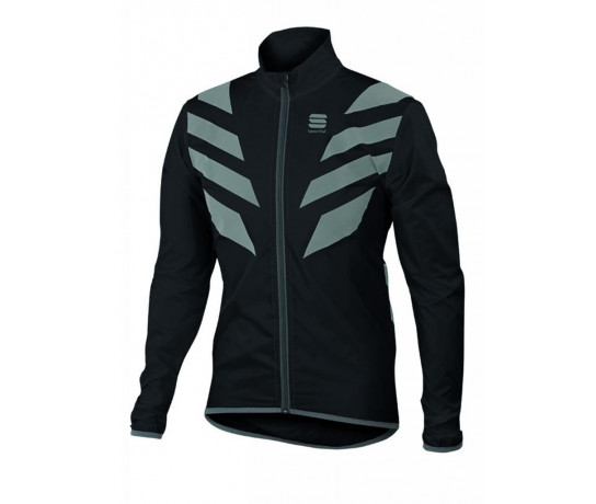 Sportful Wind/ regenjack Heren Zwart  / SF Reflex Jacket Black