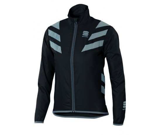 Sportful KID Reflex 2 Jacket / Kinder Fietsjack Zwart