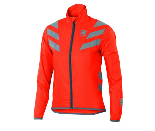 Sportful KID Reflex 2 Jacket / Kinder Fietsjack Vuurrood
