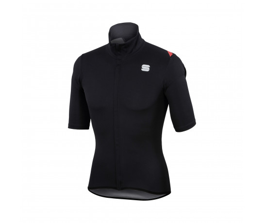 Sportful Regenjack Heren Zwart / SF Fiandre Light Norain Short Sle-Black