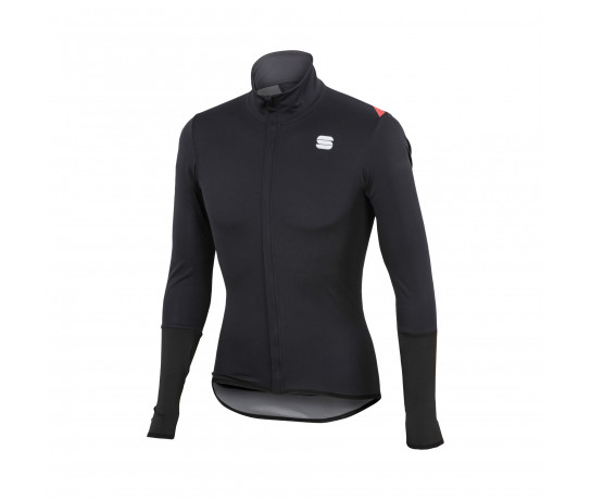Sportful Regenjack Heren Zwart / SF Fiandre Light Norain Top-Black