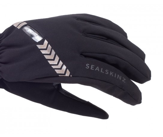 SealSkinz Halo All Weather Cycle Glove  / Fietshandschoen  Zwart Charcoal