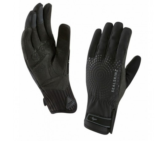 SealSkinz Women All Weather XP Cycle Glove  / Fietshandschoen Dames Zwart