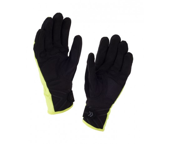 SealSkinz Women All Weather XP Cycle Glove  / Fietshandschoen Dames Zwart Fluo Geel