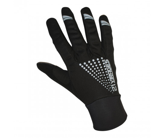 Fietshandschoenen 21Virages winter windproof Zwart