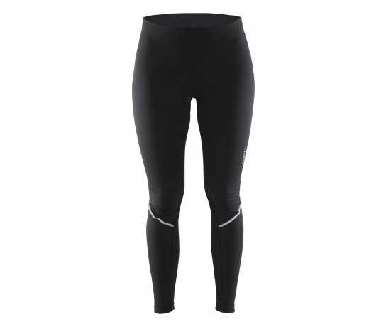 Craft Velo Thermal Tights W / Fietsbroek Dames zonder bretels Zwart
