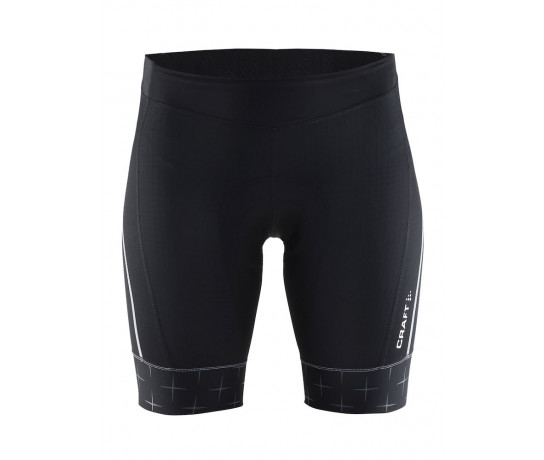 Craft fietsbroek zonder bretels dames Zwart/ Belle glow shorts Black