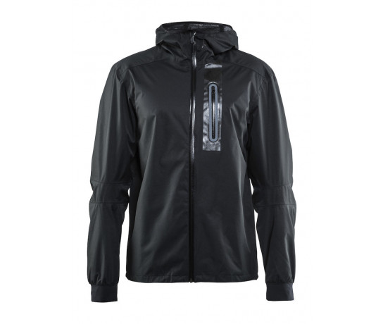Craft Regenjack Lange mouwen Heren Zwart  / RIDE RAIN JKT M BLACK