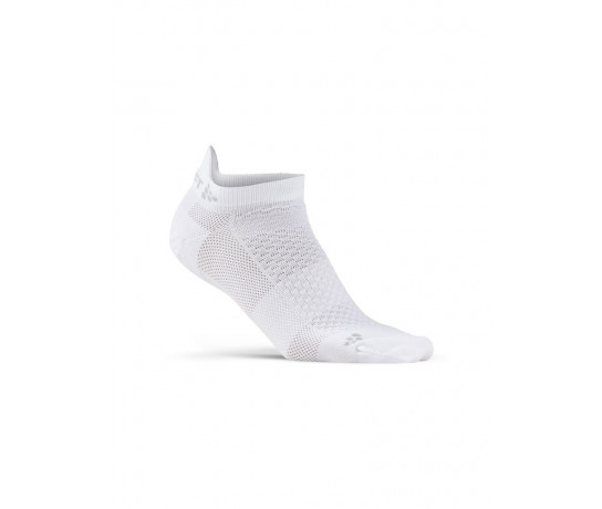 Craft 2 paar fietssokken Winter Unisex Wit  / COOL SHAFTLESS 2-PACK SOCK WHITE