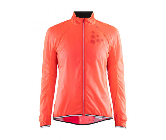Craft Fietsjack Lange mouwen Dames Roze  / LITHE JKT W CRUSH/JAM