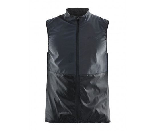 Craft Windstopper Mouwloos Heren Zwart  / GLOW VEST M BLACK