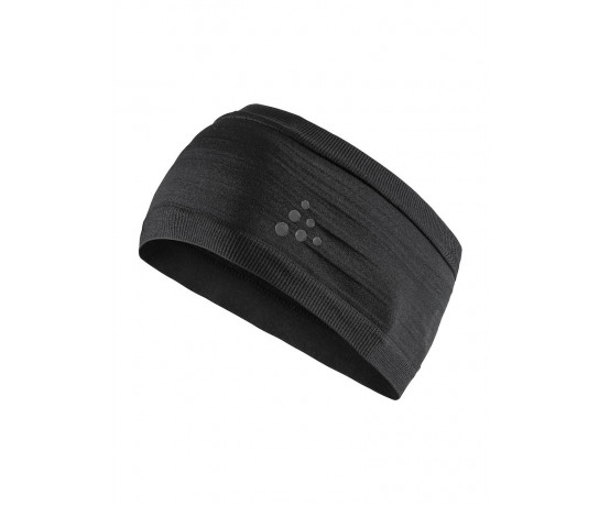 Craft Haarband Unisex Zwart  / WARM COMFORT HEADBAND BLACK