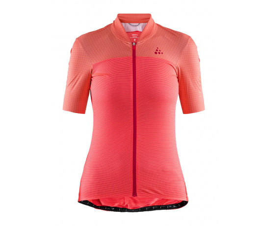 Craft Fietsshirt Dames Roze  / HALE GLOW JERSEY W BOOST/CRUSH