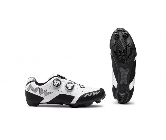 Northwave MTB fietsschoenen Heren Wit  /  REBEL WHITE