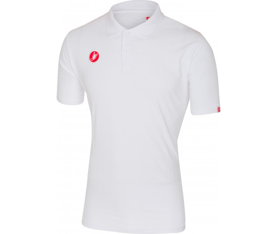 Castelli Casual kleding Heren Wit  / CA Race Day Polo White
