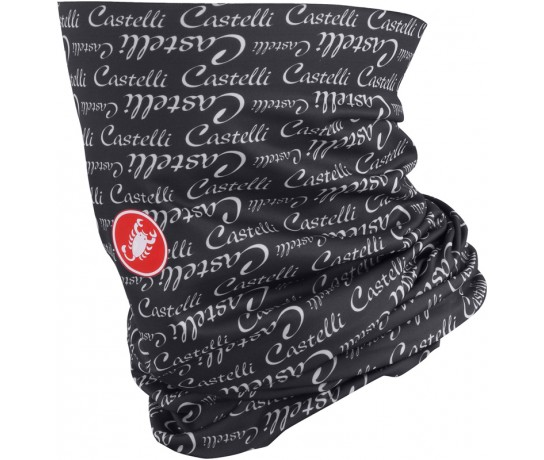 CASTELLI Head W Thingy / Bandana, Halswarmer Dames Antraciet Wit one size