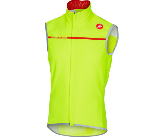 Castelli Windstopper Heren Yellow FLUO / CA Perfetto Vest Yellow Fluo