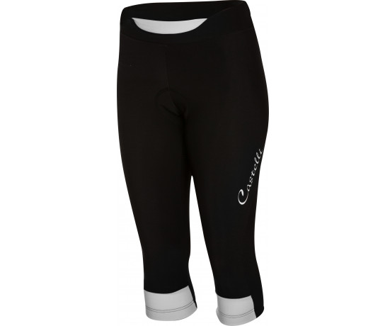 Castelli Fietsbroek lang Dames Zwart Wit / CA Chic Knicker Black/White
