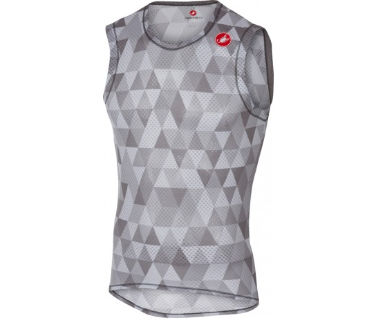CASTELLI PRO Mesh Sleeveless / Zweethemd Mouwloos Multicolor Grijs