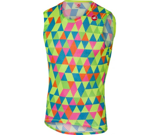 CASTELLI PRO Mesh Sleeveless / Zweethemd Mouwloos Multicolor Fluo
