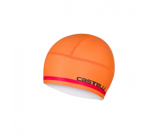 CASTELLI Arrivo 2 Thermo Skully / Winter Helmmuts Oranje