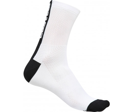 Castelli fietssokken Heren Wit Zwart / CA Distanza 9 Sock White/Black