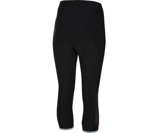 Castelli fietsbroek 3/4 Dames Zwart Rood / CA Vista Knicker Black/Red