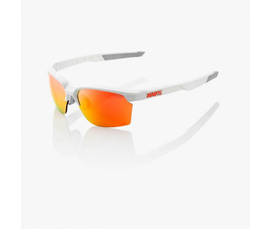 100p Fietsbril / Sportcoupe Hiper Lens  Soft Tact White