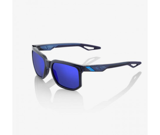 100p Casual Zonnebril / Centric Mirror Lens  Polished Blue