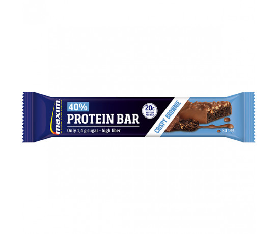 Maxim 40% Protein Bar Crispy Brownie 50 gr.