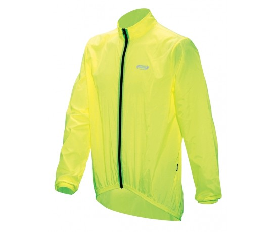 BBB BASESHIELD Rainjacket / Wind/Regenjack Neon Geel