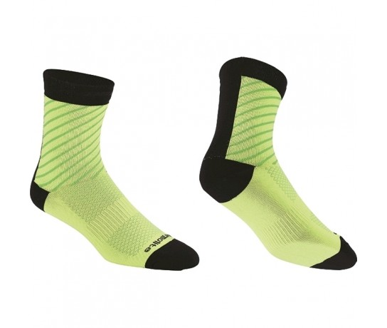 BBB Thermofeet socks / Fietssokken winter Neon Geel