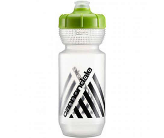 Cannondale Bidon Transparant Groen / Retro Bottle CLG 750ml