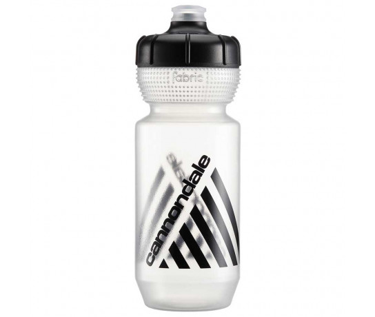 Cannondale Bidon Transparant Zwart / Retro Bottle CLB 600ml