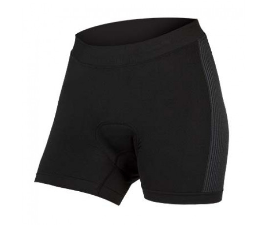 Endura Fietsonderbroek Dames Zwart / Dames Engineered Padded Boxer - Zwart