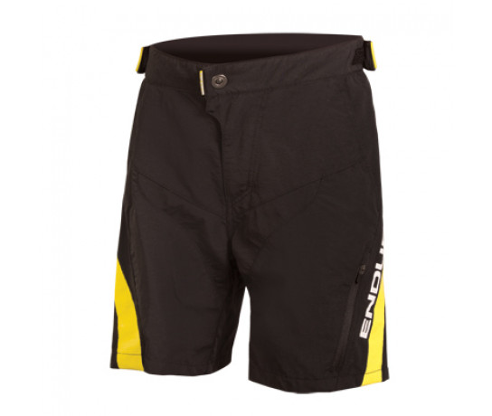 Endura MTB Baggy korte fietsbroek Kids Zwart / Kids MT500JR Short - Zwart