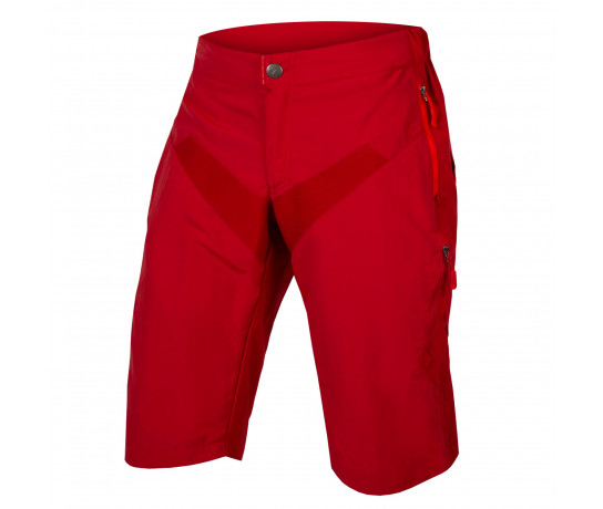 Endura MTB Baggy korte fietsbroek Heren Rood / SingleTrack Short - RustRed