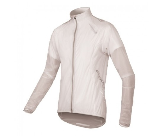 Endura regenjack waterdicht en ademend wit/ FS260-Pro Adrenaline Race Cape white