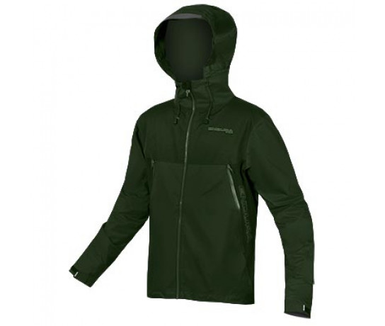 Endura Fietsjack Heren Groen / MT500 Waterproof II Jas - ForestGreen