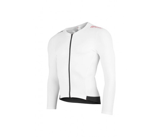 Fusion Triathlon top lange mouwen Unisex Wit / SPEED TOP LONG SLEEVE WHITE