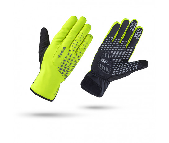 GripGrab Fietshandschoenen winter waterdicht Hi-vis Fluo  / Ride Waterproof Hi-Vis Winter Glove Fluo Yellow