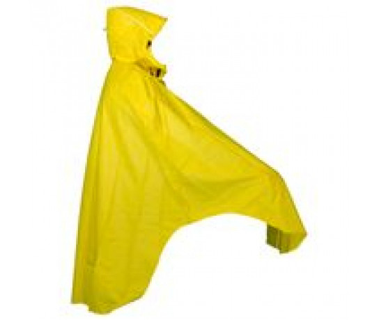Mac in a Sac Fietsponcho unisex Geel  / Bicycleponcho yellow
